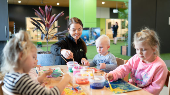 Arts and Crafts at Edge Early Learning