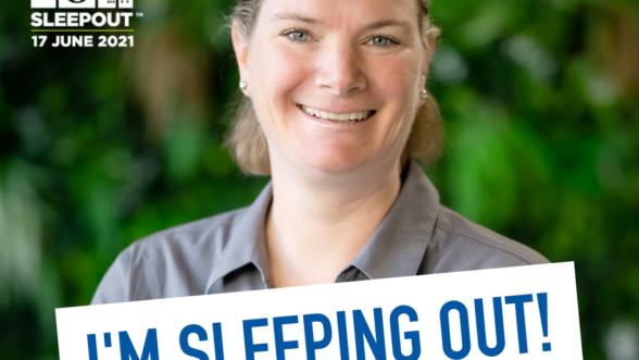 CEO Sleepout Annie Bryce