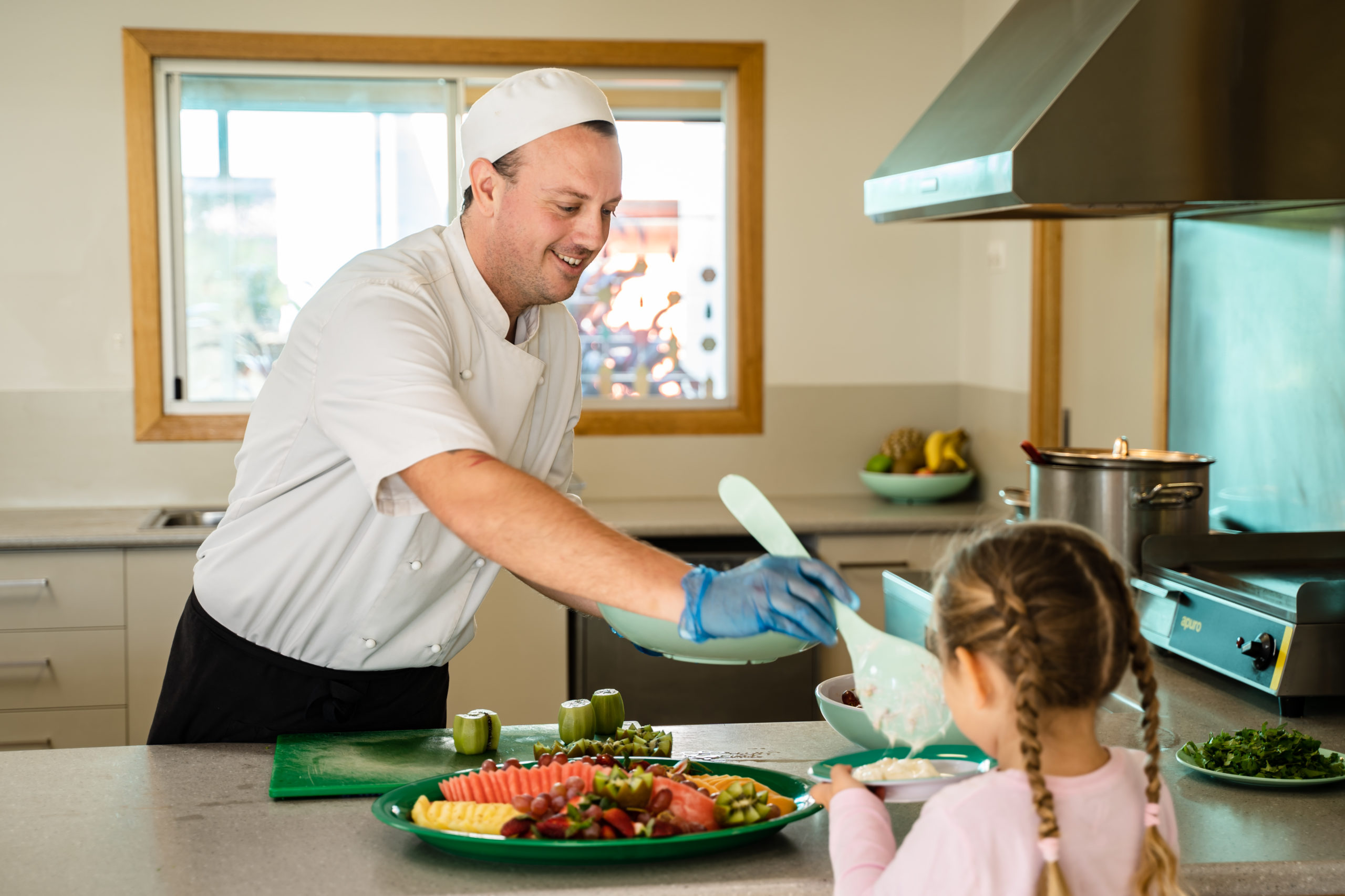 Get your bake on at edge early learning