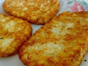cooking hash browns