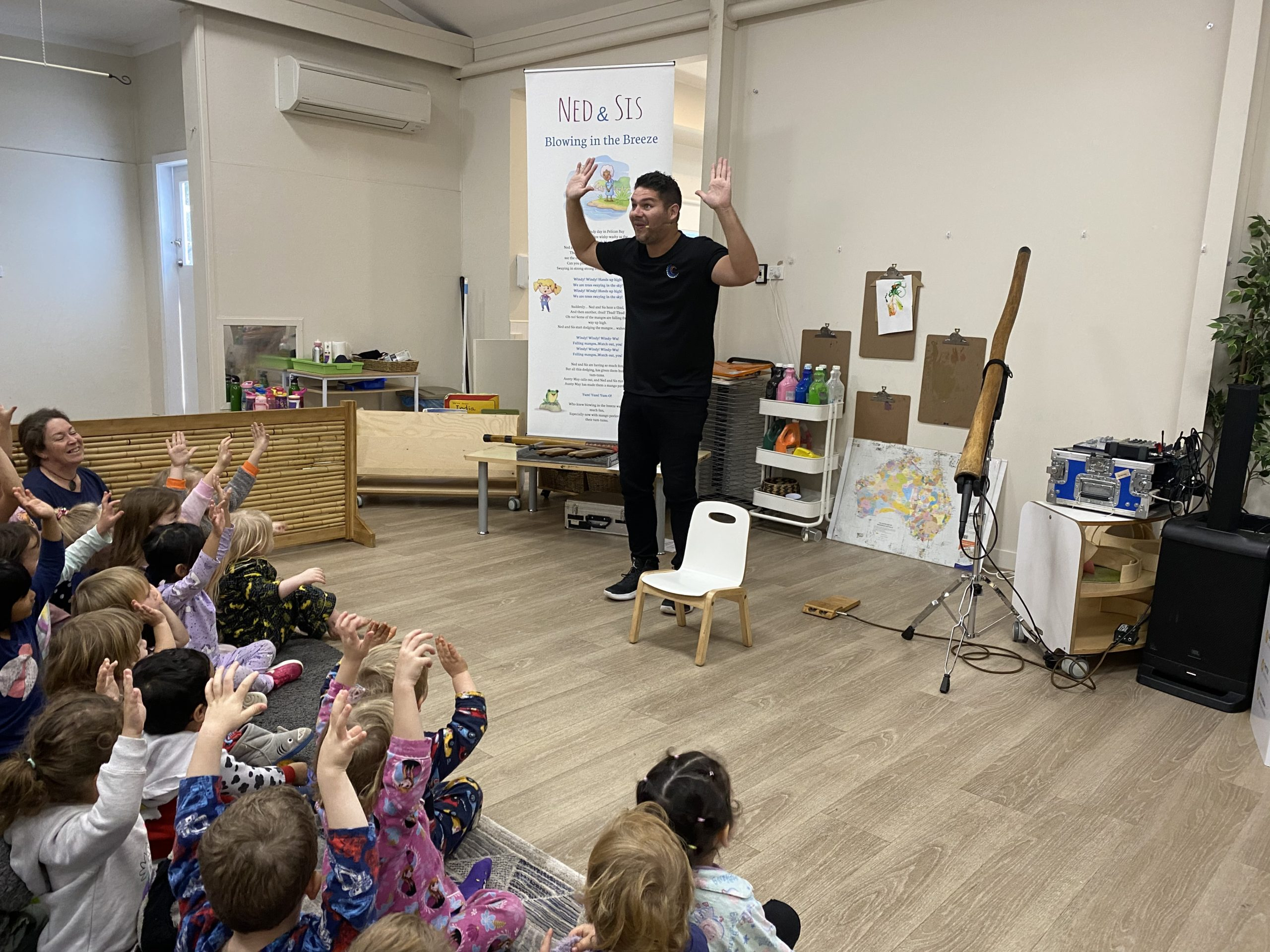 edge early learning storyfest visit