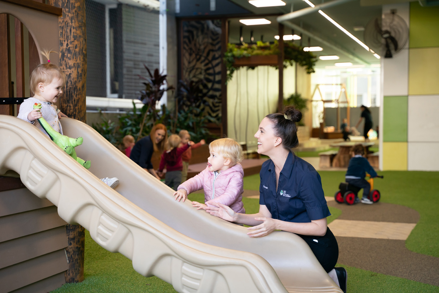South Brisbane outdoor play area