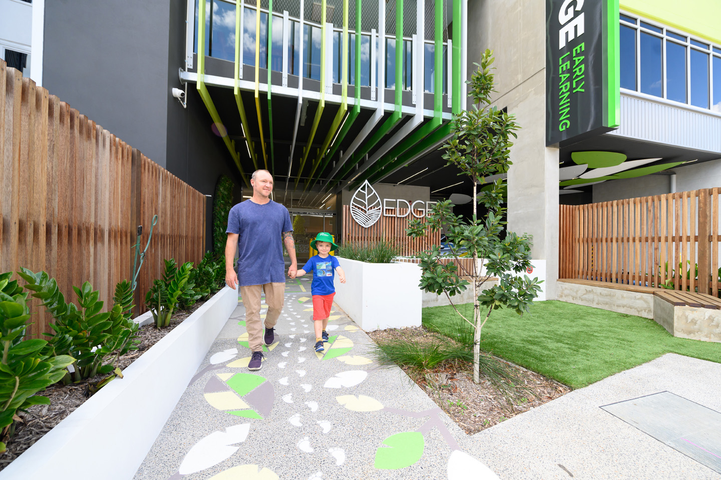 South Brisbane Edge Early Learning entry