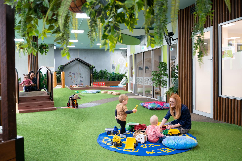 South Brisbane Nursery outdoor area