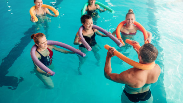 Benefits of working out in water for kids