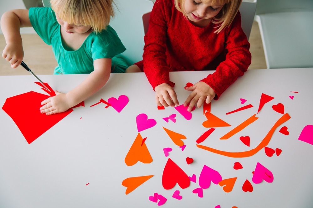 Children's Valentine's Day Arts and Crafts