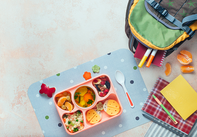 Bento box filled with nutritious food