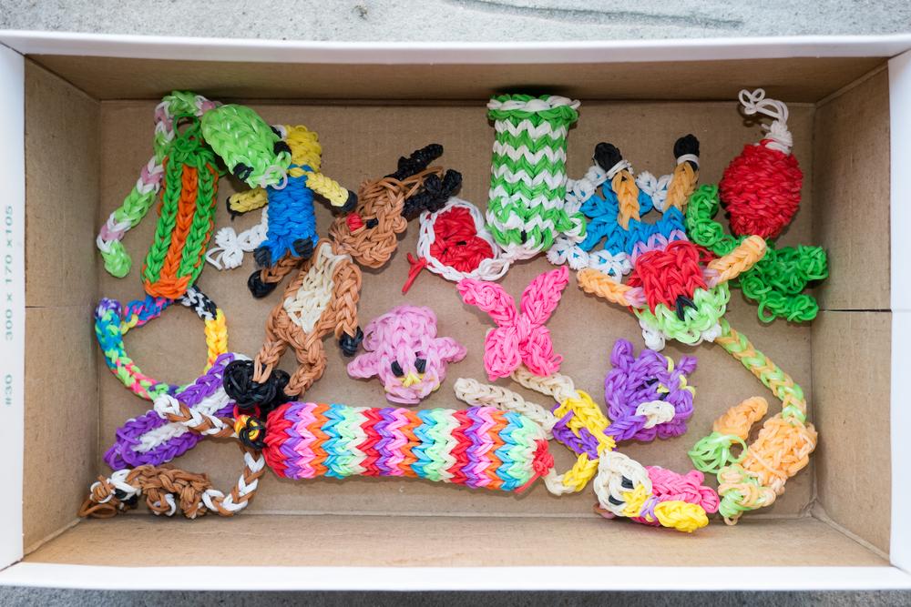 Crafts in a shoebox